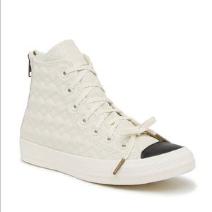 Converse Chuck Taylor All Star Back Zip Leather